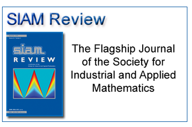 The SIAM Review consists of five sections, all containing articles of broad ...